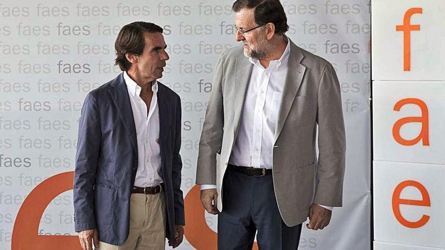Aznar i Rajoy declararan com a testimonis al judici de la caixa B del PP