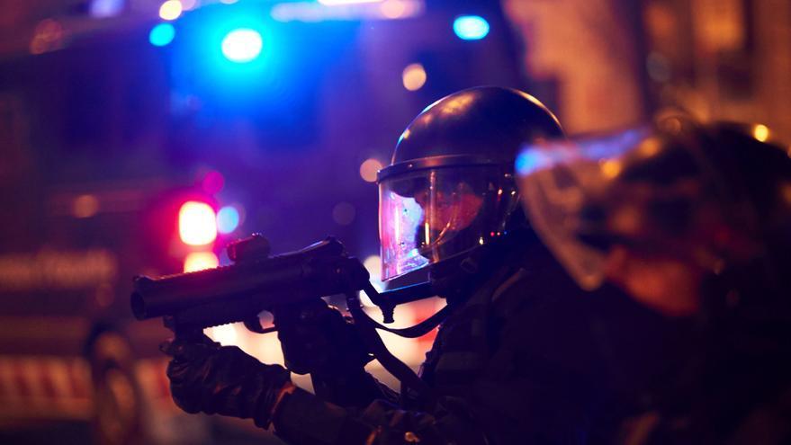 Los Mossos hacen público el protocolo de uso del 'foam': sin aviso ante situaciones violentas