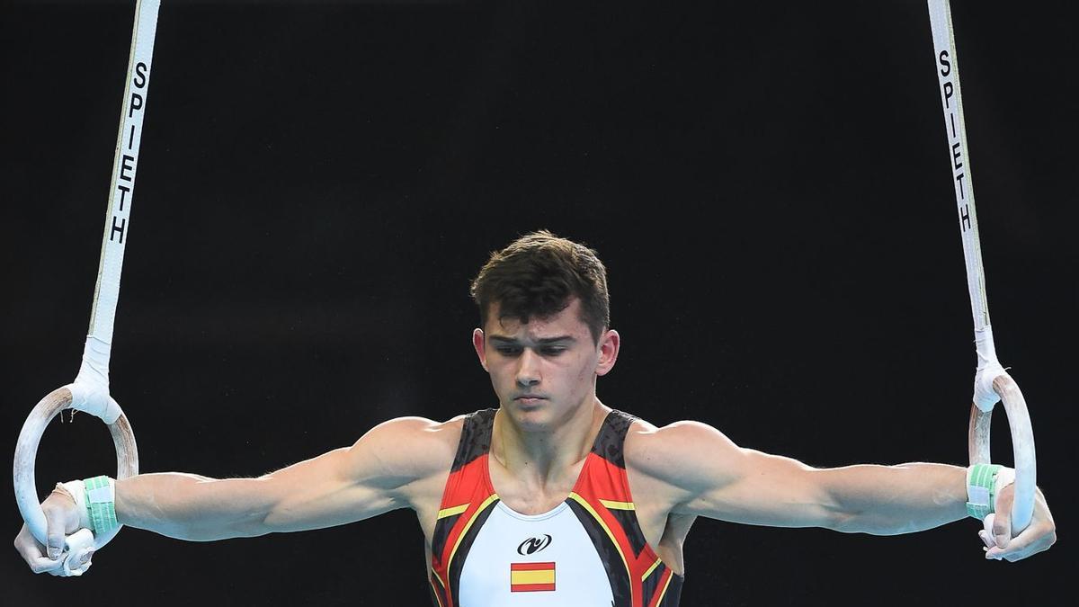 Nicolau Mir, durante una competición