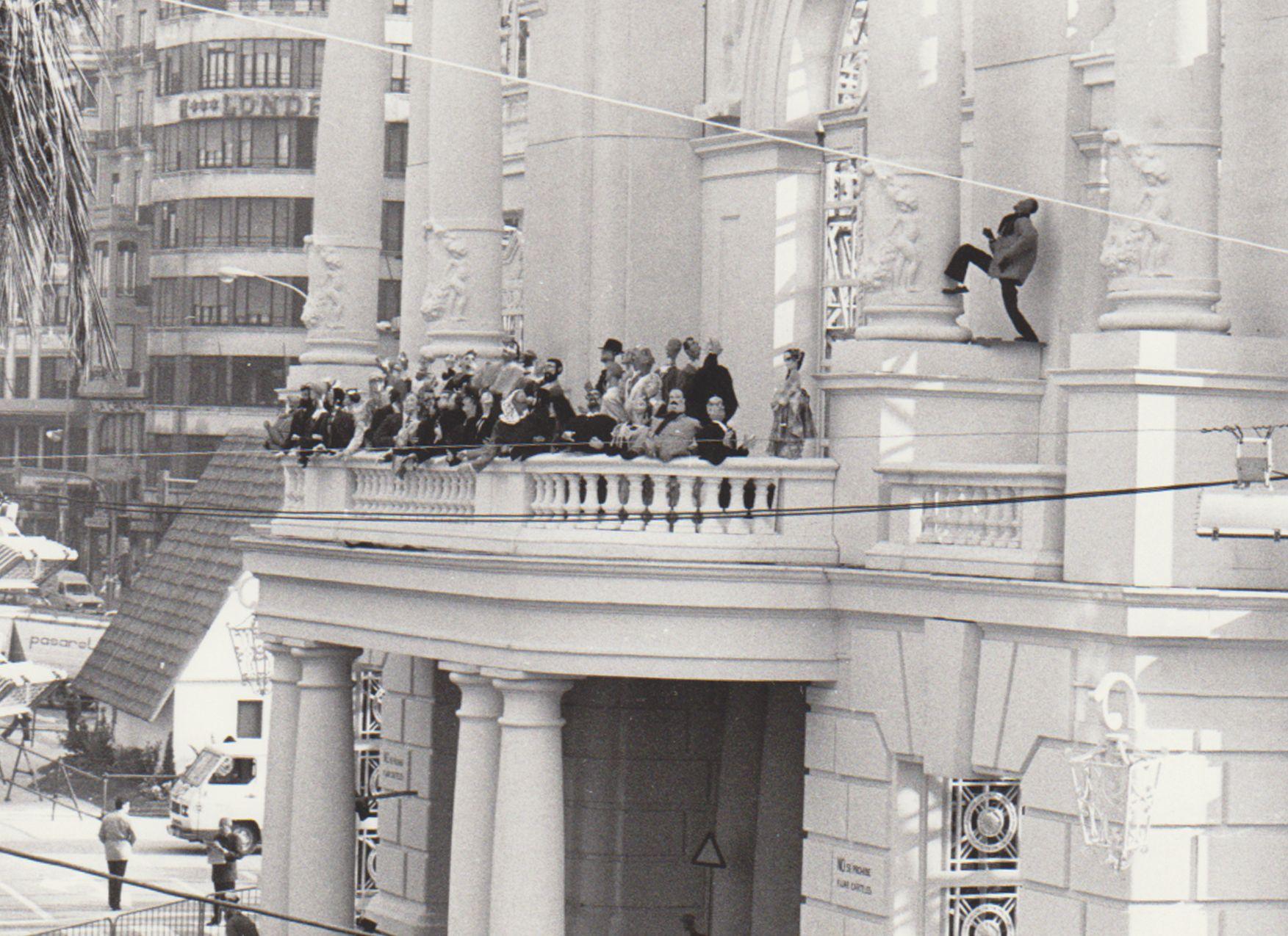 Así eran las fallas en los años 80