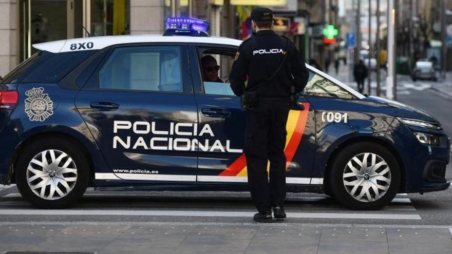 Detenido tras dar una paliza a un conocido en Pontevedra y amenazarlo con un cuchillo