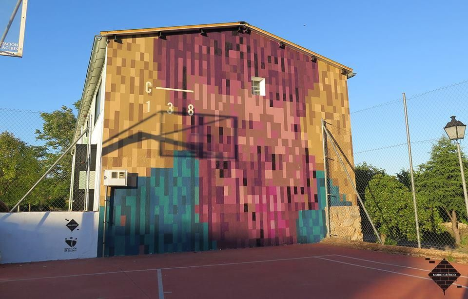 Ruta de arte urbano por los pueblos de Cáceres