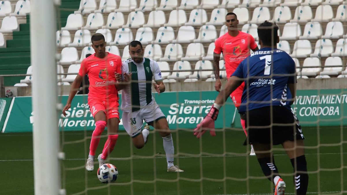 Las imágenes del Córdoba CF-UD Tamaraceite
