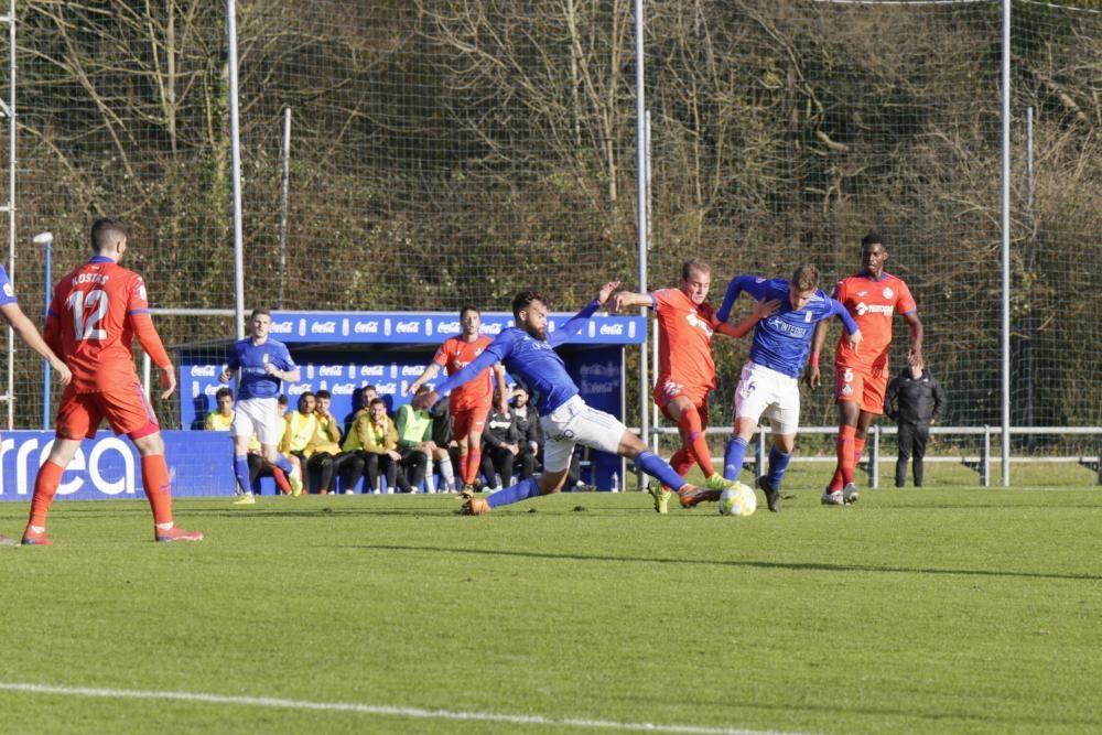 Oviedo Vetusta-Getafe B (2-1)