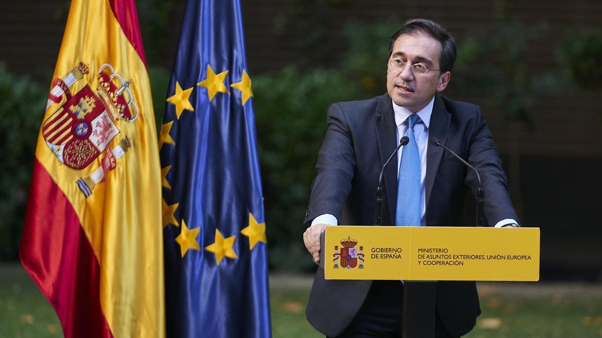 El ministro de Asuntos Exteriores, UE y Cooperación, José Manuel Albares.