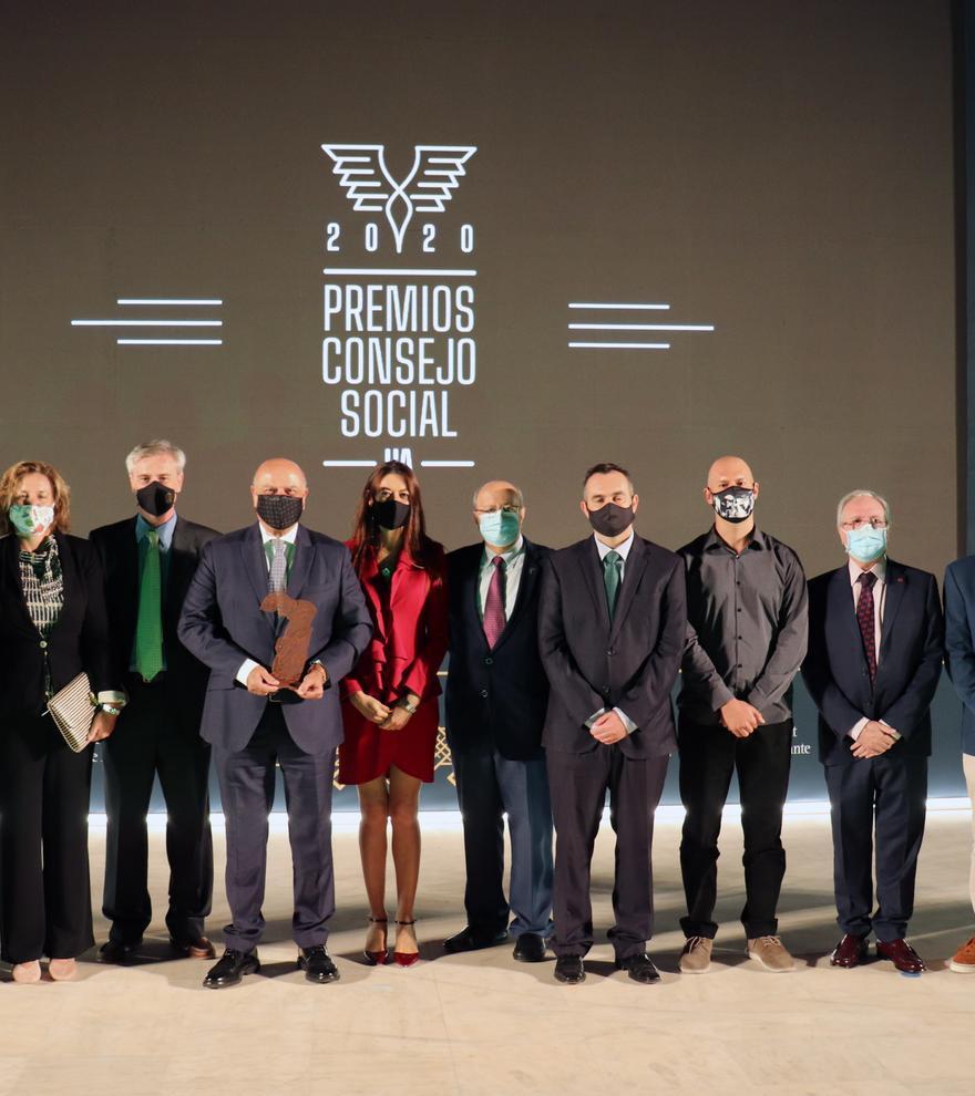 La entrega de premios tuvo lugar el día 15 en el anfiteatro del Aulario II de la UA