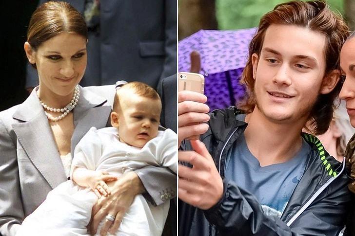 El hijo de Celine Dion.