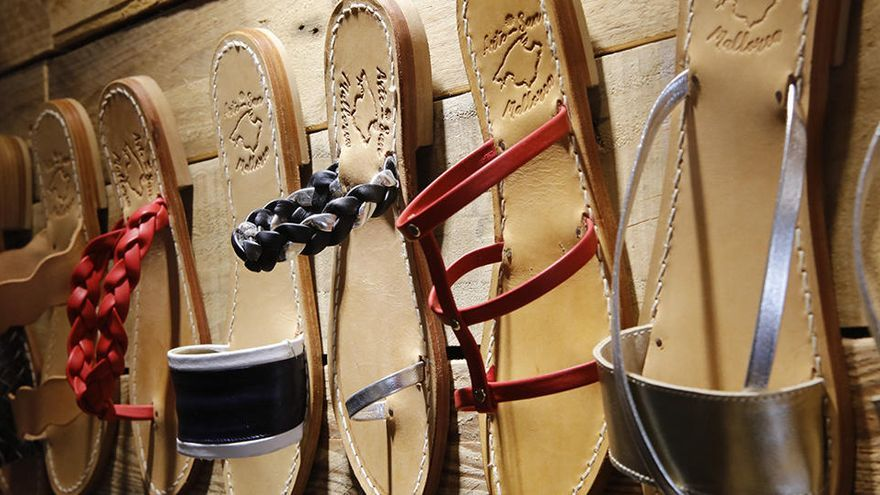 """Diese maßgefertigten Sandalen sind wirklich """"Made in Mallorca"""""""
