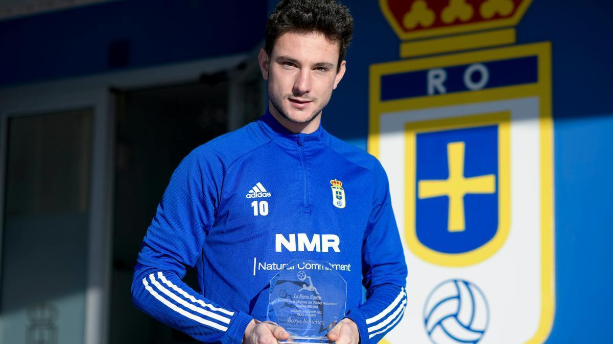 Mejor jugador del Oviedo. Borja S�nchez.jpeg