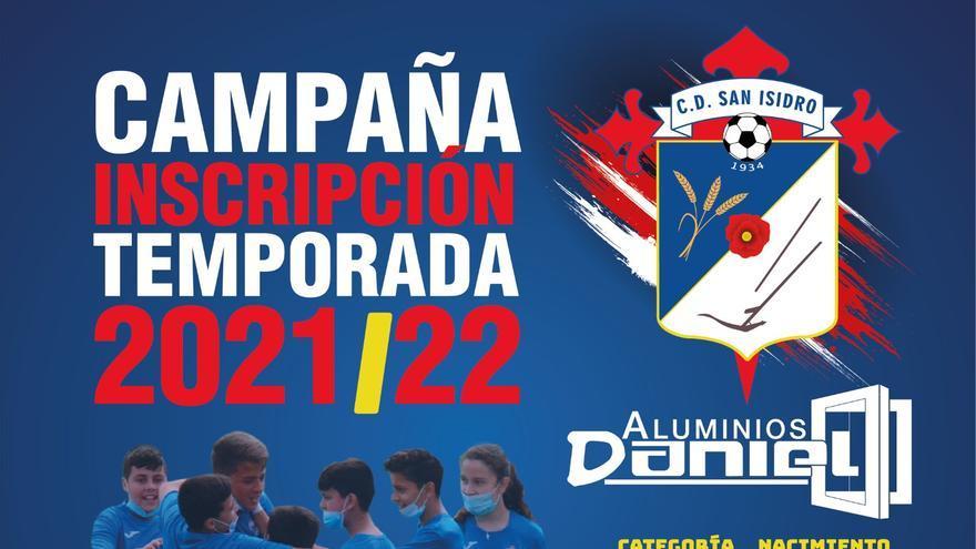 El Club Deportivo San Isidro abre su campaña de Inscripción 2021-2022