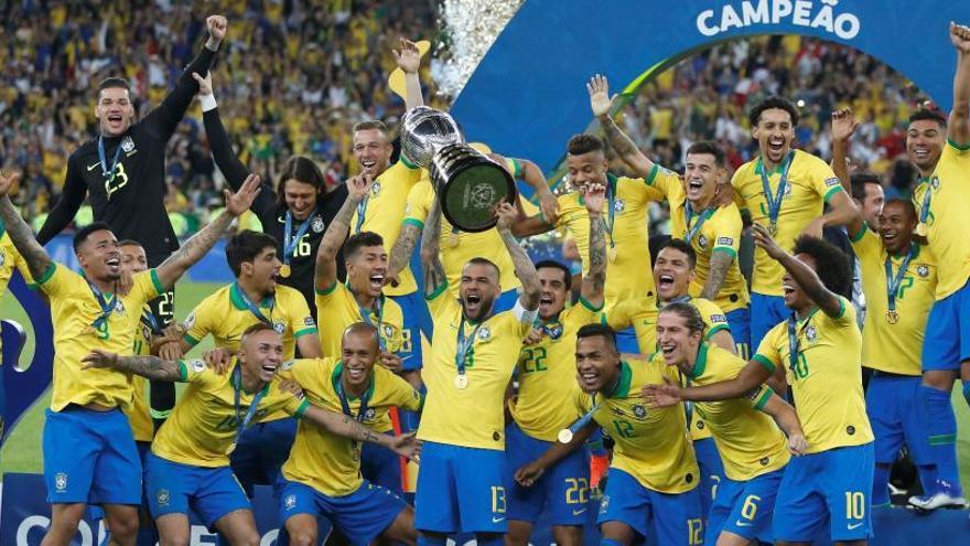Brasil conquista su novena Copa América ante Perú
