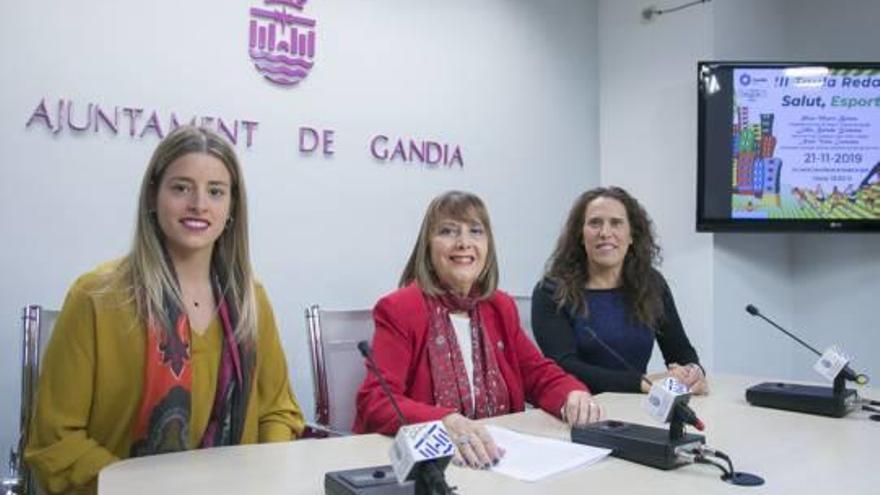 Pilar Martí, Lidia Balada y Nani Vela protagonizan la mesa redonda «Salut, Esport i Dona»