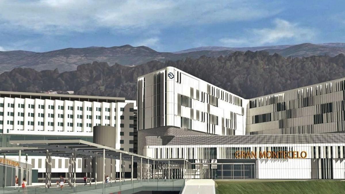 Recreación del nuevo complejo que formará el Gran Montecelo.   | // XUNTA