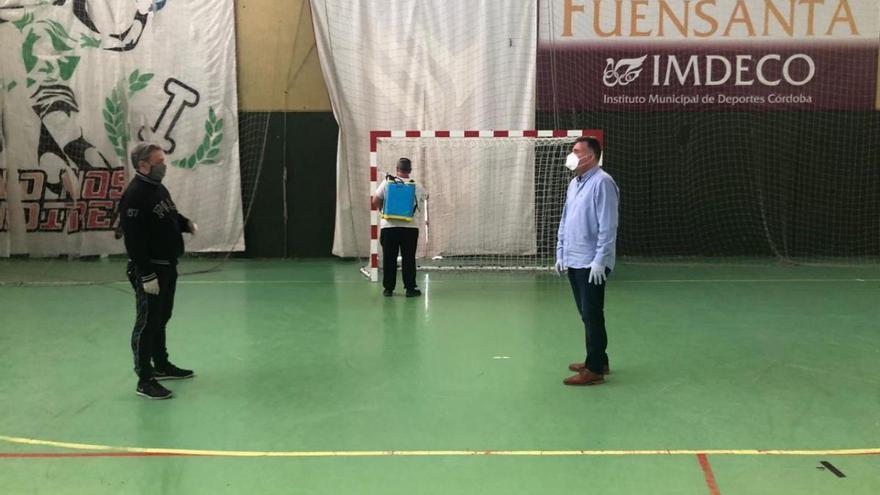 Desescalada en Córdoba: el Imdeco prepara las instalaciones deportivas para su reapertura en la fase 2