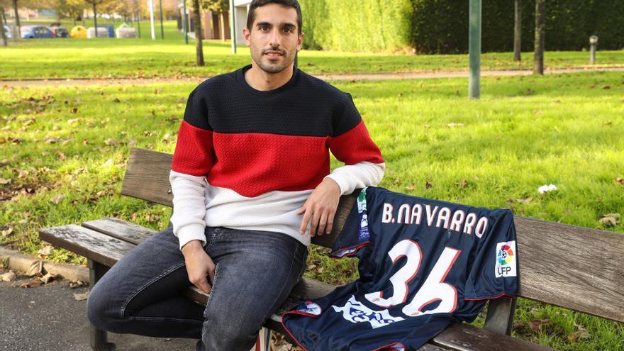 La espina clavada de Borja Navarro en el Sporting
