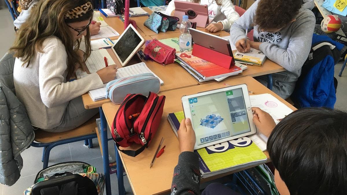 El congreso analiza el uso de la tecnología en las aulas.