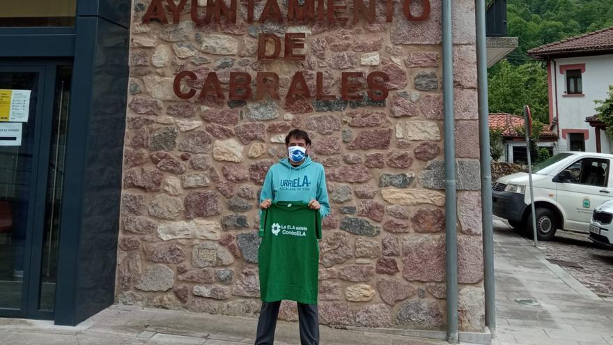 Miguel Ángel Roldán escalará el Pico Urriellu en Asturias para dar visibilidad a la ELA