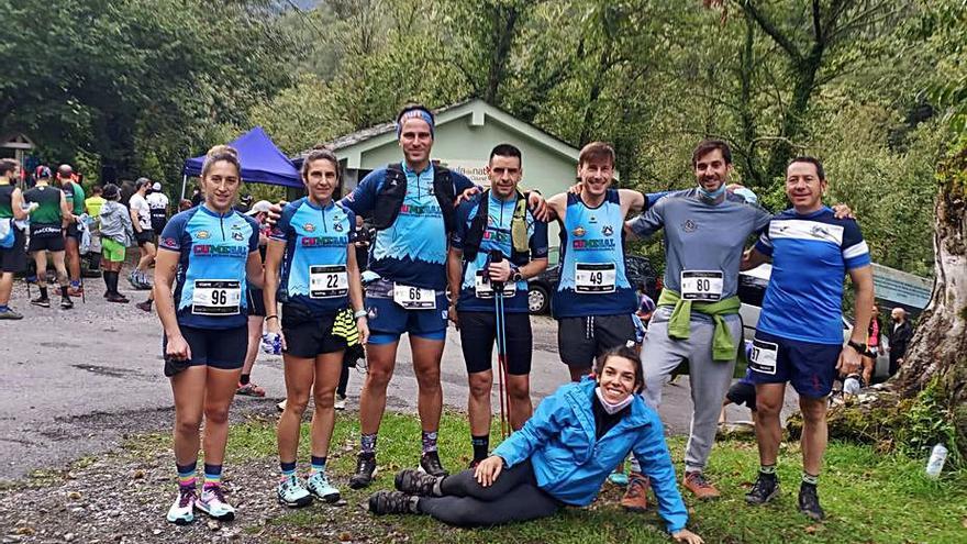 El Galaico Trail Run se exhibe en Galicia