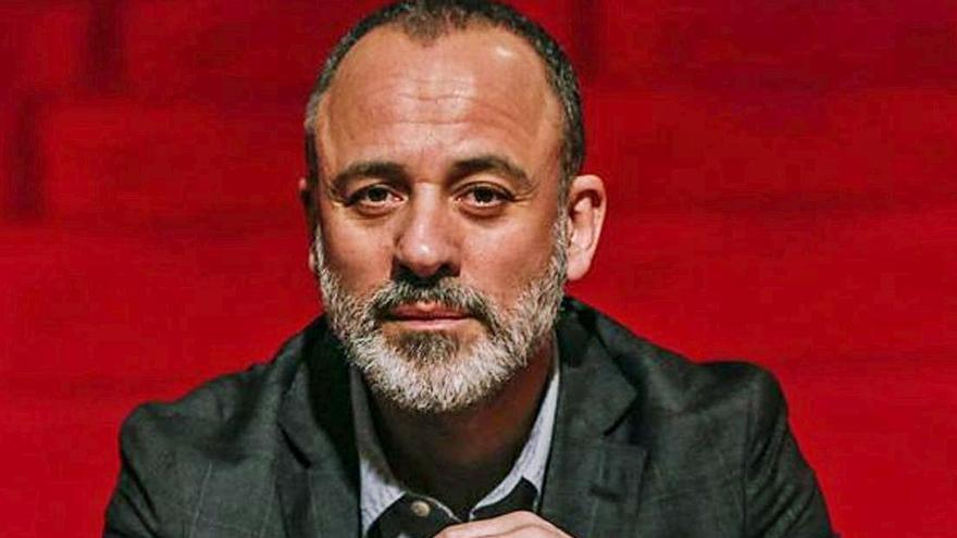 El actor Javier Gutiérrez. | RICARDO GROBAS