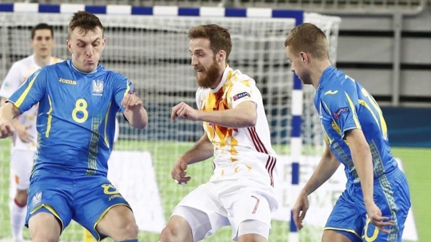 España, a semifinales del Europeo de fútbol sala