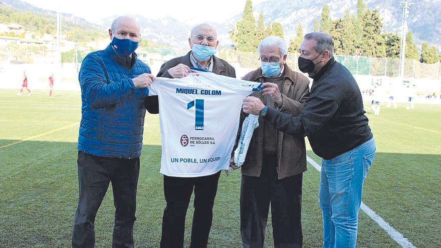 Pilotades | El Sóller homenajea al socio Miquel Colom