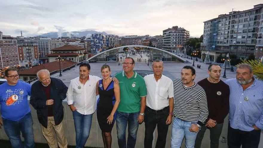 La peña Bochum celebra su ascenso