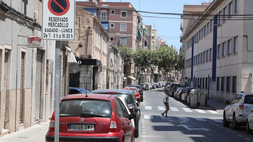 El PP de Elche exige que no se eliminen plazas de aparcamiento en Carrús