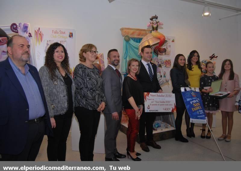 Burriana expone los 'ninots' y desvela los indultados para las Fallas 2020