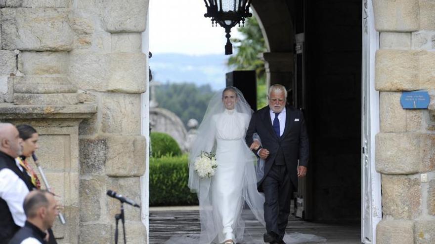 Marco Juncadella y Lucía Bárcena, boda de ensueño