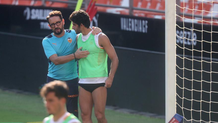 El Valencia se prepara antes del Madrid