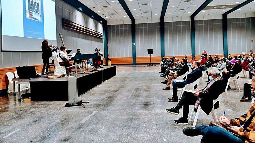 La Associació Centelles pide que no se paralice  la restauración del Palau