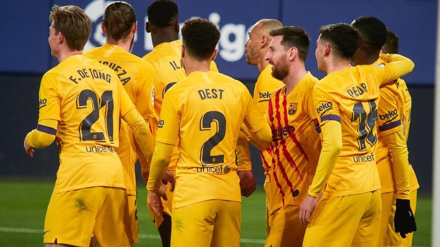 Todos los goles de la jornada 26 de LaLiga: Ilaix se estrena con un Barça que mira a LaLiga