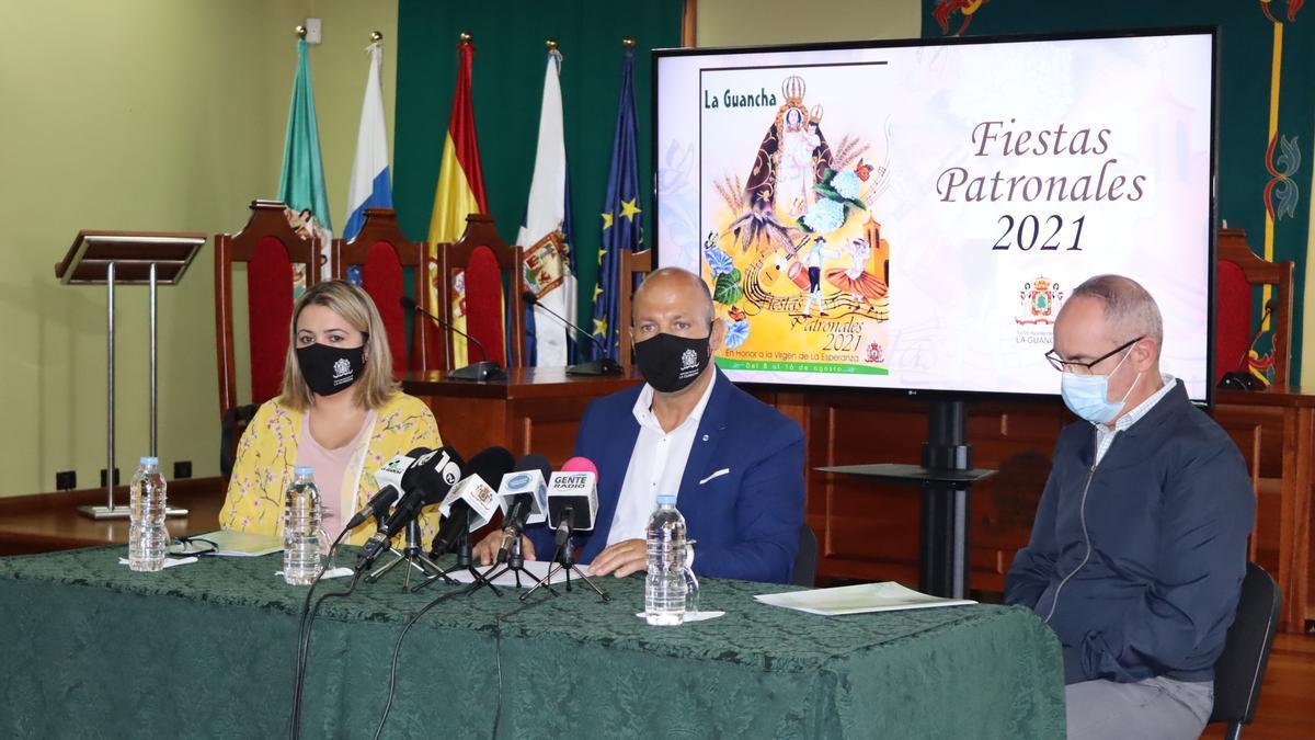La presentación de las Fiestas Patronales de La Guancha 2021
