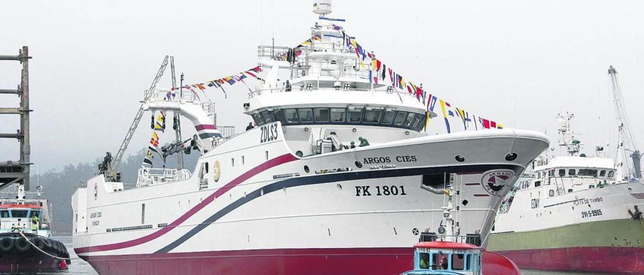 El sector naval se hace fuerte en Galicia y Marín protagoniza la remontada