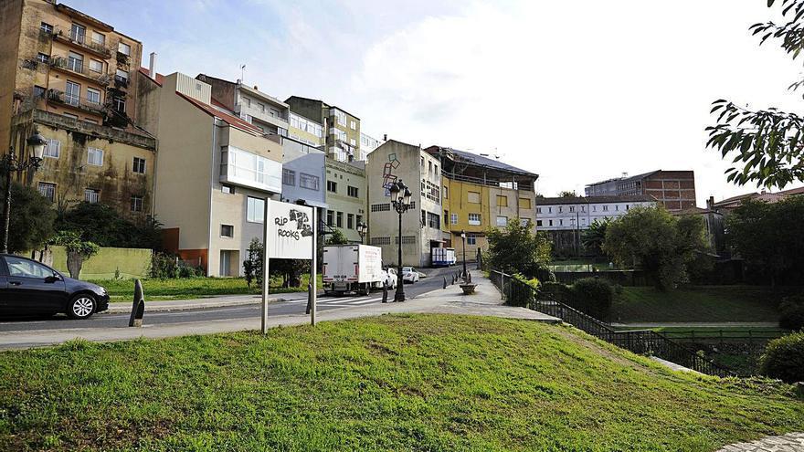 Más viviendas en tonos crema y verde