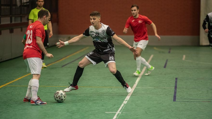River Zamora demuestra su pertenencia a la categoría ganando al Atlético Bembibre