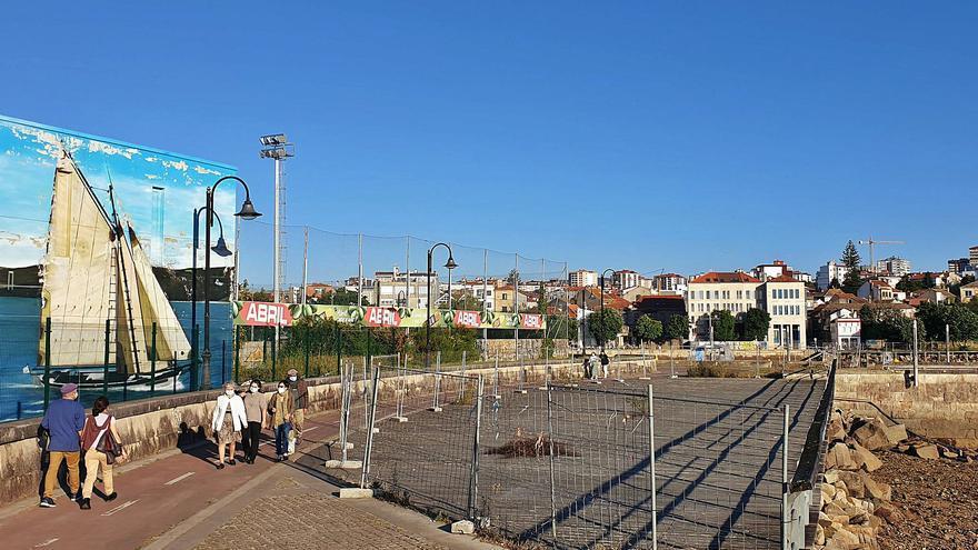 Cuenta atrás para la reforma del paseo marítimo exterior de Bouzas