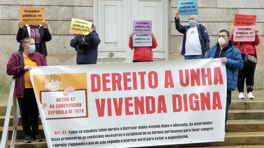 Fijan para el 3 de marzo el desalojo de chabolistas de Navia