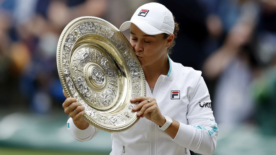 Barty puede con Pliskova y conquista su primer Wimbledon