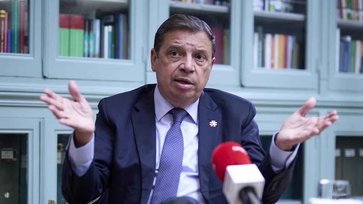 El ministro de Agricultura, Pesca y Alimentación, Luis Planas.