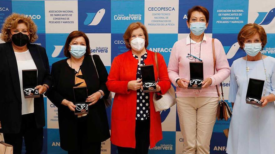 Anfaco premia la labor ejemplar de las mujeres del sector conservero