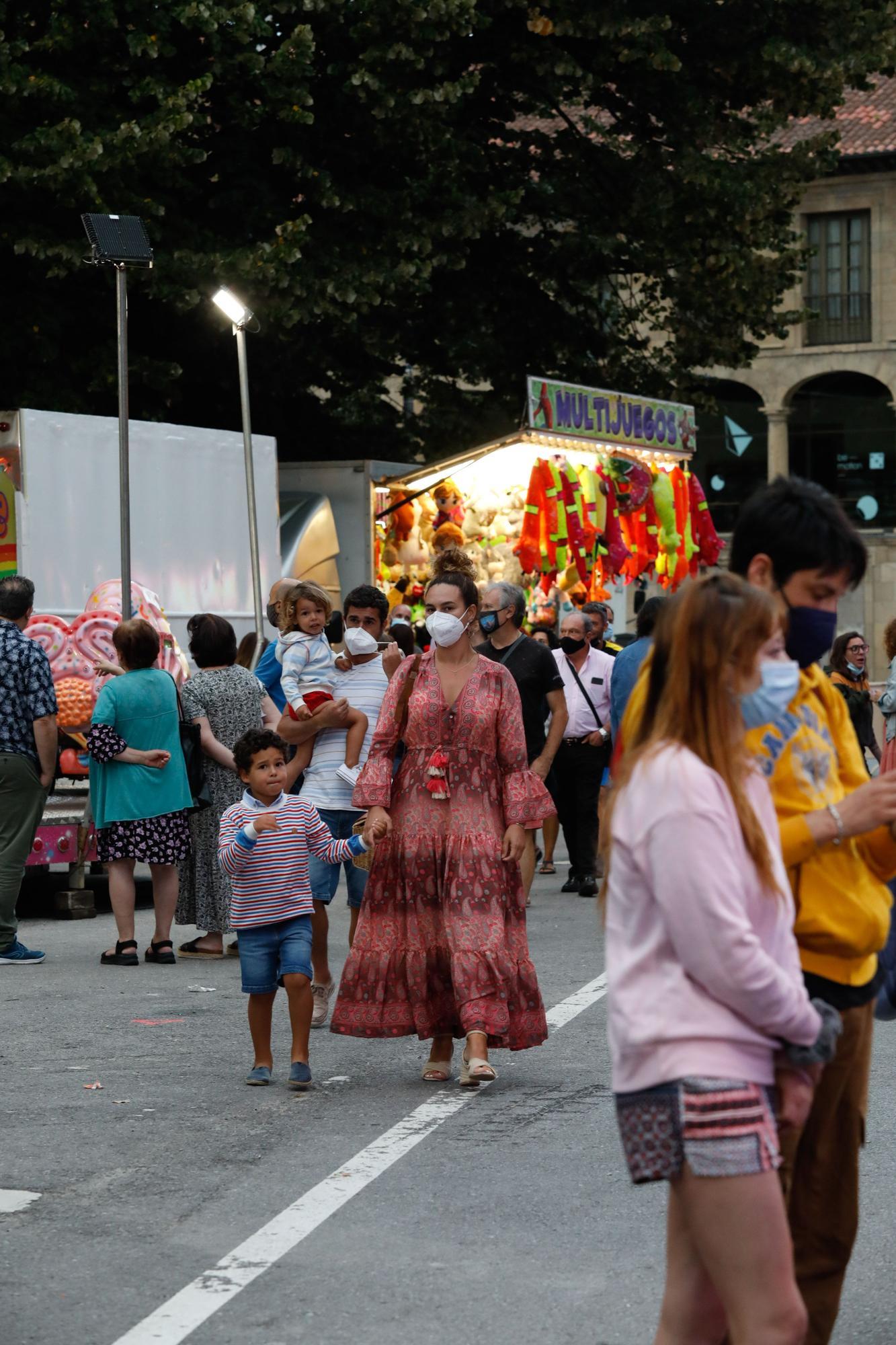 Atracciones feriales de San Agustín en Avilés