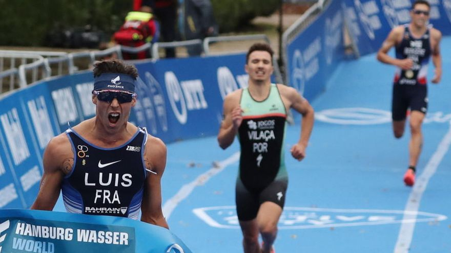 El francés Luis revalida el título mundial de triatlón con los españoles lejos del podio