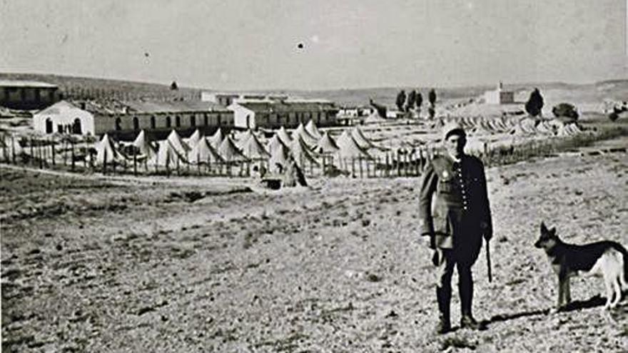 Sitúan a un alcoyano entre los muertos del campo de prisioneros de Djelfa