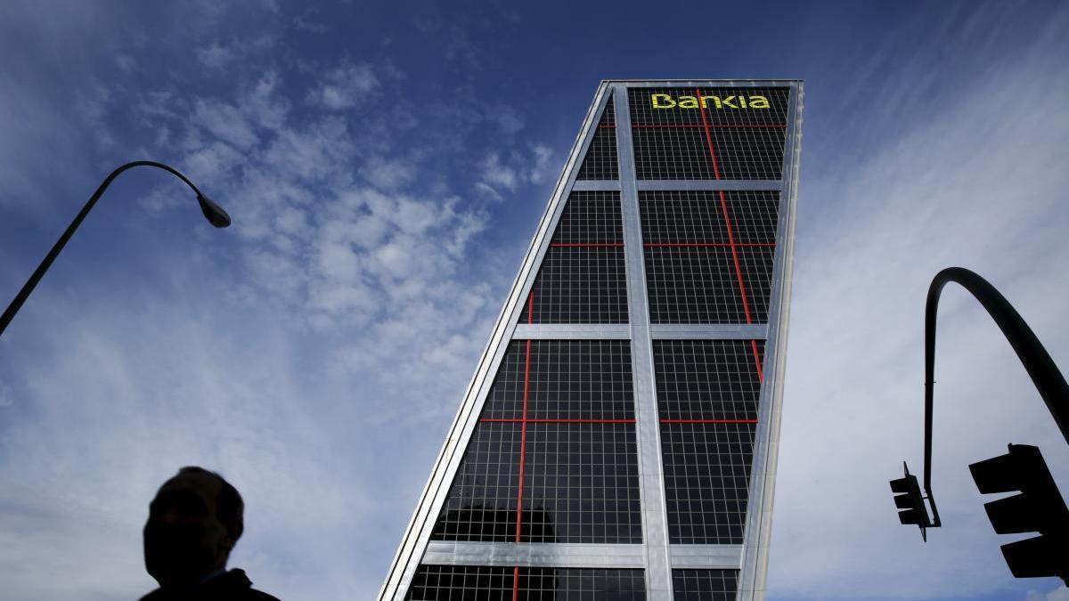 Sede central de Bankia en Madrid.