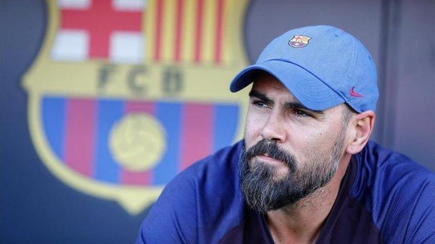 El Barça hace oficial el despido de Víctor Valdés como entrenador del Juvenil A