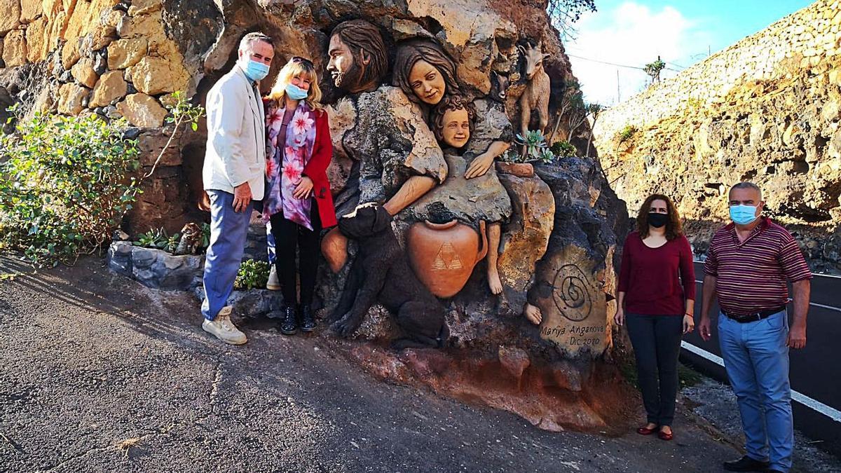 Arte en la piedra de San Miguel de Abona | EL DÍA