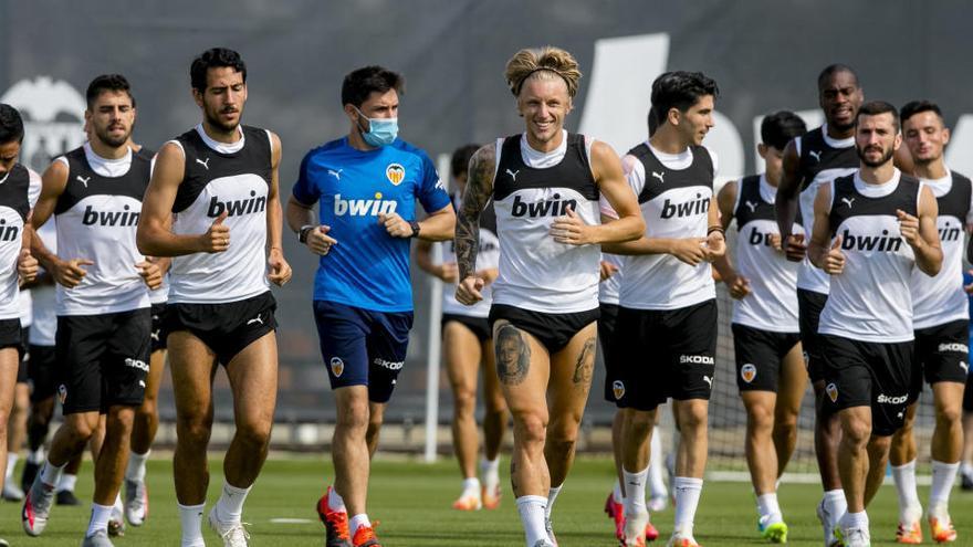 Pocas rotaciones en el Valencia CF