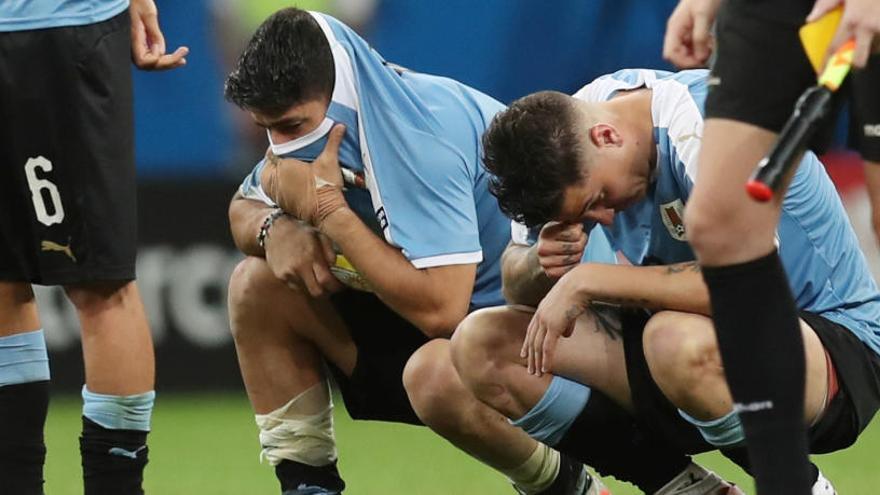 Uruguay cae ante Perú en los penaltis tras fallar Luis Suárez