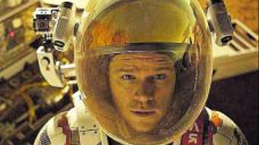 Nueve películas y series  para ir a Marte